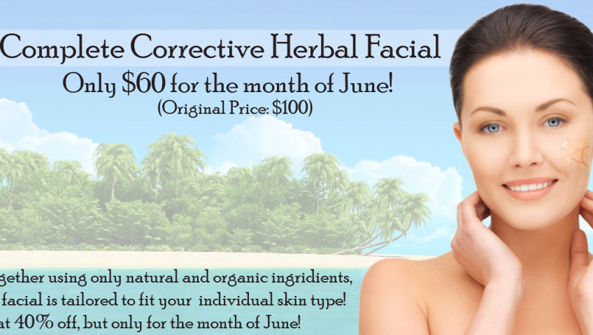 Complete Corrective Herbal Facial June Special 848x480
