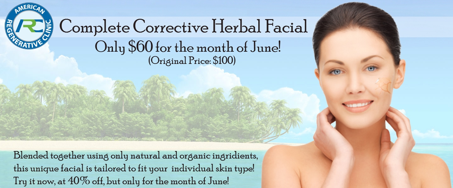 Complete Corrective Herbal Facial June Special